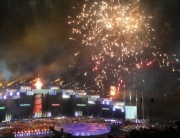Fireworks, Singapore youth olympics games