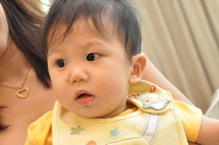 jerry-1st-birthday-drool