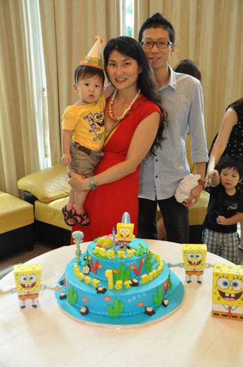 jerry-1st-birthday-family-photo