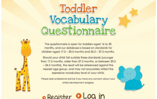 Abbott Nutrition Toddler Vocabulary Questionnaire