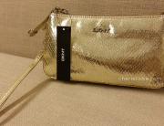 Giveaway - a brand new DKNY Wristlet in gold up for grabs with #MICE12DaysofChristmas
