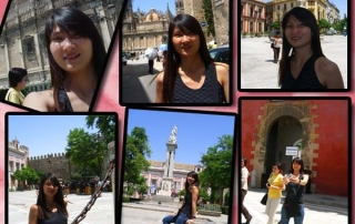 Visiting Alcazar in Seville, Spain