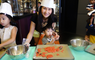Cookies baking class at TOTT
