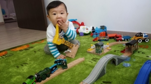 Jerome turns 10 mths old.