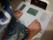 Jerome on weighing scale