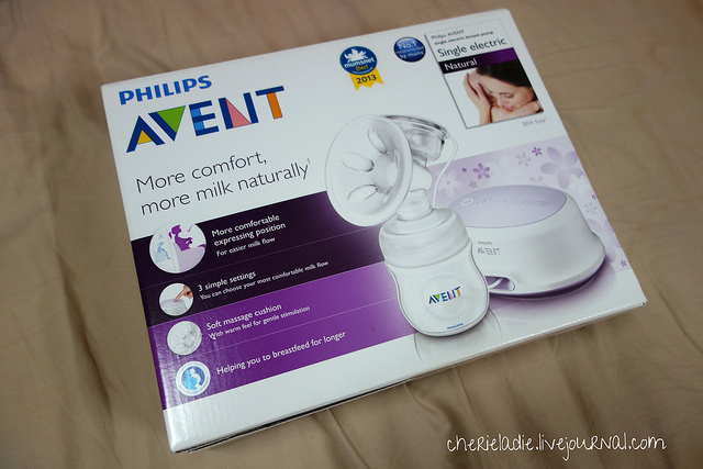 Product Review Philip Avent Breast Pump Single Electric